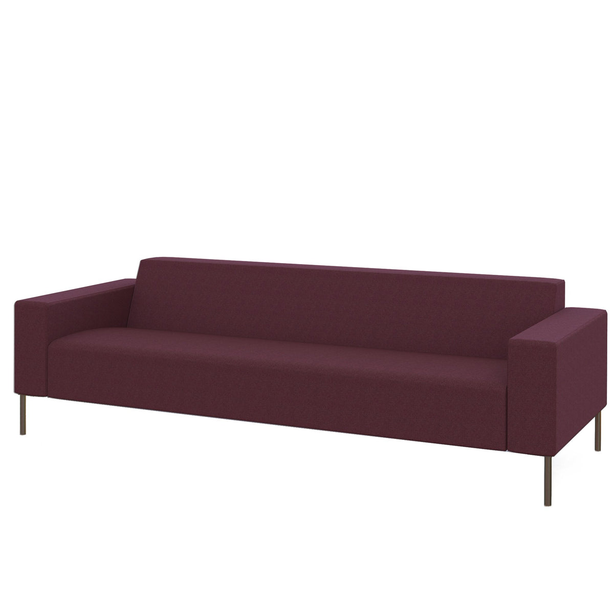 Hitch Mylius HM18 Origin Three Seat Sofa Brushed Stainless Steel Legs Wembley