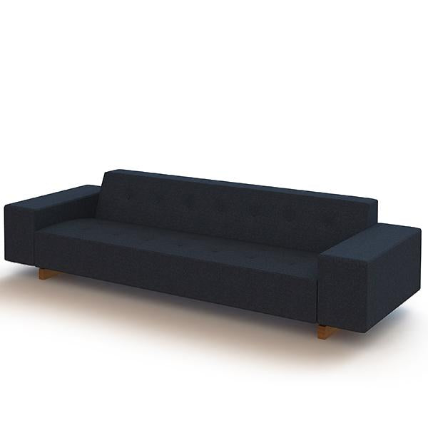 Hitch Mylius Office HM46 Abbey Three Seat Sofa Tower