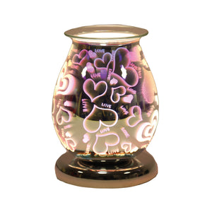 Oval Love 3D Electric Wax Melter