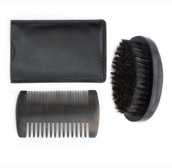 Beard Grooming Kit: Brush & Comb - ShopToute.com