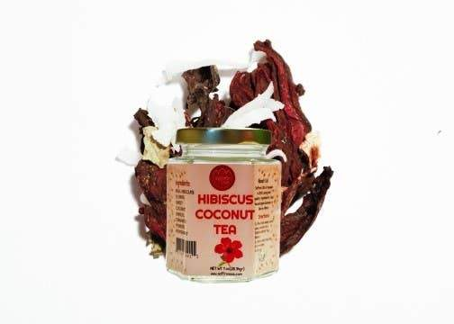 Hibiscus Coconut Tea 1oz - ShopToute.com