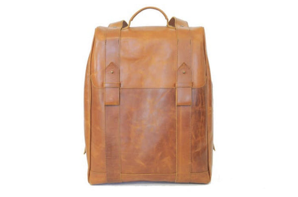 Leather Road Men's Commuter Backpack - ShopToute.com