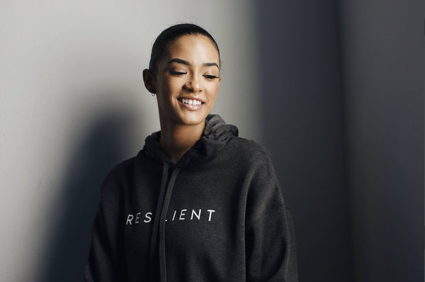 Resilient Cropped Hoodie - ShopToute.com