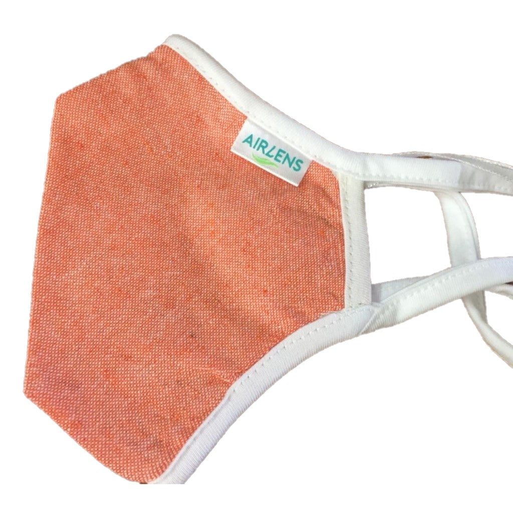 Airlens N99 Protection Mask Washable 'Orange'
