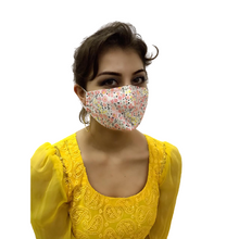 Load image into Gallery viewer, face masks Jova Flora Pink - JOVAJOVA-Fashion-Studio