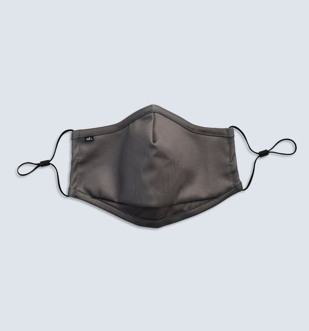 Adult Grey Face Mask 1