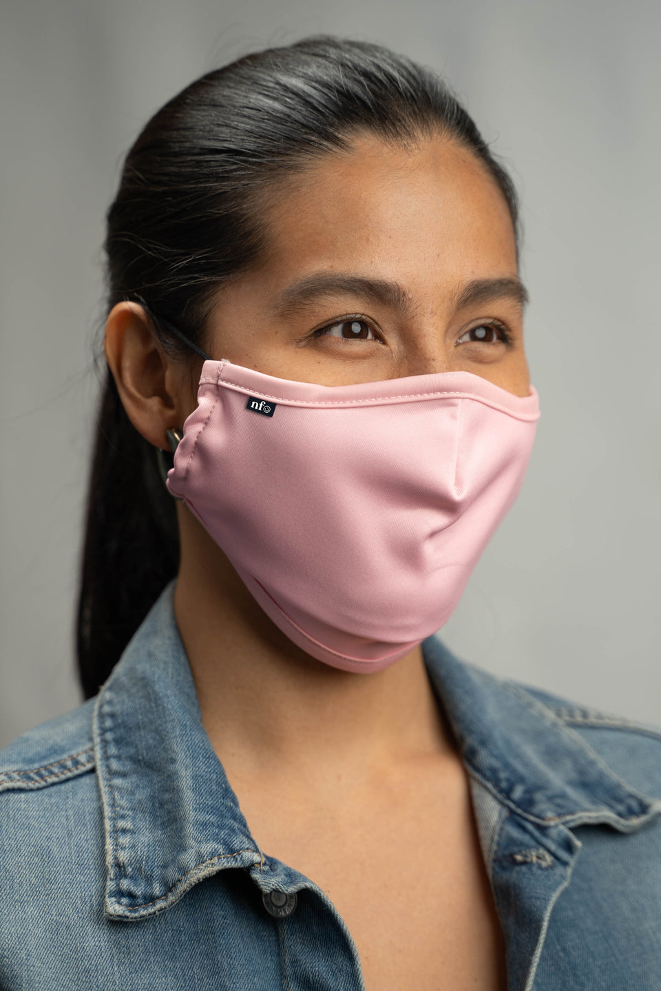 Adult Pink Face Mask - NiiceFace