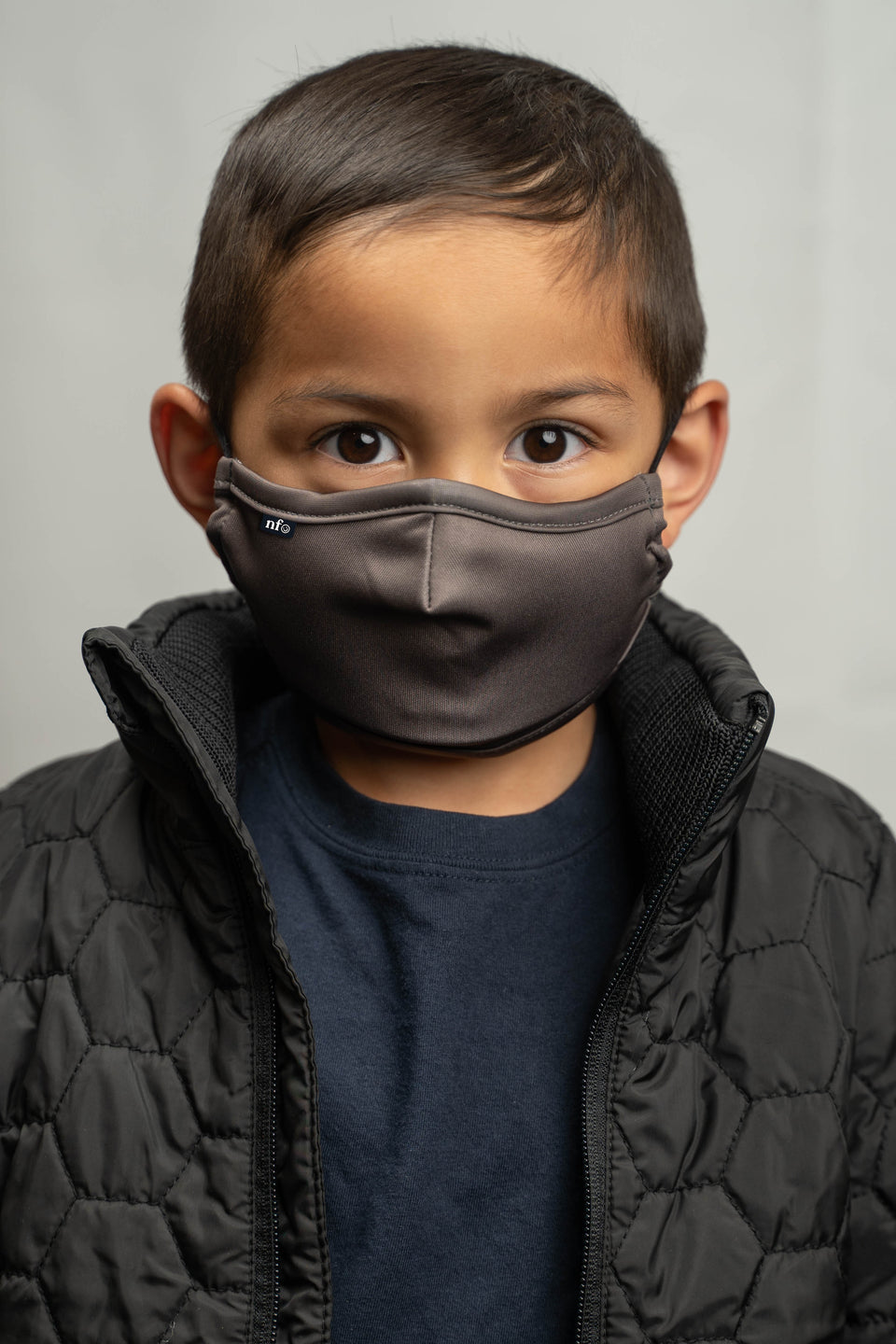 Kids Grey Face Mask - NiiceFace