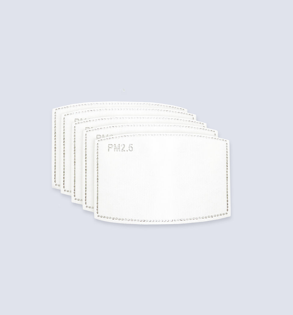 Adult PM2.5 Filter Packs - NiiceFace