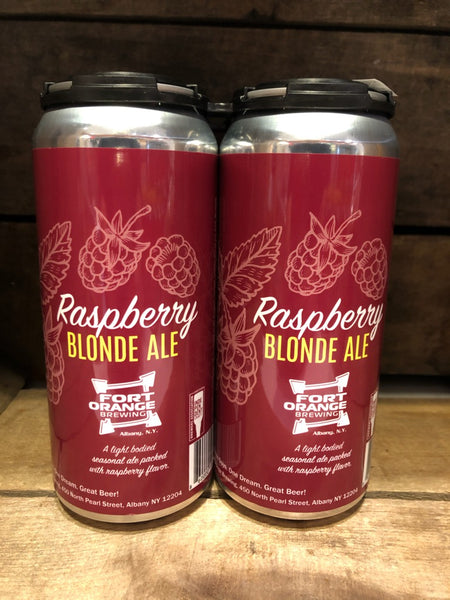 Beer, Raspberry Blonde Ale,  4 pk