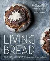 In this ground-breaking book, pioneering bread baker Daniel Leader offers a comprehensive picture of bread baking today for the enthusiastic home baker. Influenced by art & science in equal measure, Leader presents exciting twists on classics such as Curry Tomato Ciabatta, Vegan Brioche, as well as traditional recipes Author: Daniel Leader Pages: 367 Published: 2019
