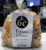 Fabulously fresh cut and fried potato chips, salted to perfection.  Approximately 4 oz./bag.
