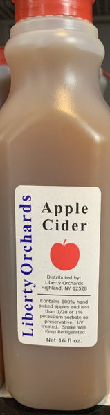 This refreshing cider has hints of sweet and tart flavor, pt