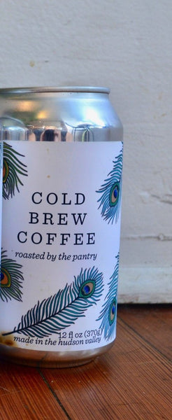 Cold Brew Coffee ready to drink! - unsweetened ready to drink cold brewed coffee chocolatey clean and smooth 12 fl oz can