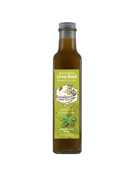 Refreshing twist on the Classic Elixir, with many of the same benefits - and pairs exceptionally well with food, used as a marinade ingredient, for cocktails and added to iced tea. 8.5 oz bottle, refrigerate after opening.