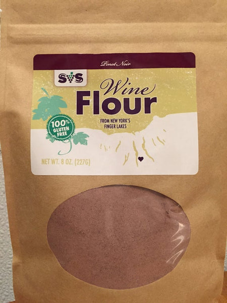 Doting a super thin skin, Pinot Noir is not for the faint of heart. However, it's finicky nature fits in well with the unpredictable weather of the Finger Lakes.  Do you love cherries AND bourbon? Then this super light purple wine flour will give you flavors of both!