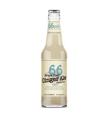 "This ale has the same great, fresh ginger taste you've grown to love in our original, but with only 66 calories.  ""66"" is sweetened with pure cane sugar and monkfruit—an ages-old Chinese medicinal and zero calorie sweetener.  Ingredients: Carbonated Water, Pure Cane Sugar, 100% Fresh Ginger, Monk Fruit Extract and Citric Acid"