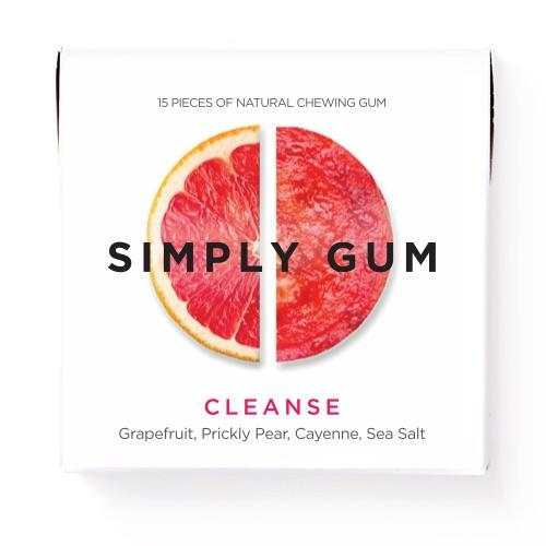 A tangy citrus with a hint of spice, the CLEANSE features grapefruit, prickly pear, cayenne, and sea salt, in a refreshingly unique combination.  Non GMO Certified, Vegan Certified, Kosher Certified, Aspartame Free, Xylitol Free, Dairy Free, Gluten Free, Nut Free, and Soy Free.