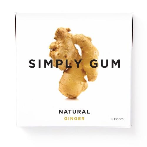 If you love ginger like we love ginger, get ready for the perfect chew. Our delicious Ginger gum contains all of the zest of fresh ginger with none of the plastic or synthetics found in conventional gum. Because we don't use plastic, our gum is biodegradable and better for your body and our planet.  Non GMO Certified, Vegan Certified, Kosher Certified, Aspartame Free, Xylitol Free, Dairy Free, Gluten Free, Nut Free, and Soy Free.     1 pack of gum