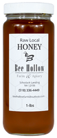 This honey is all about summer lovin'. This honey comes from the abundance of summer clovers and wildflowers.  Bee Hollow Farm is located in Schodack Landing, New York.  16 oz. glass jar
