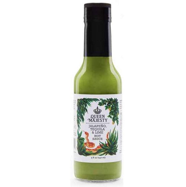Our all-natural, original & award-winning recipes are VEGAN • GLUTEN & SUGAR FREE • KOSHER   INGREDIENTS: White vinegar, jalapeño peppers, onions, apple cider vinegar with mother, lime juice, white tequila, garlic, green apple, ginger root, olive oil, salt & spices. 5 oz. glass bottle with tamper resistant wrapping.