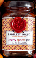 Organic tart cherries and sweet apricots make this quite a lovely jam. This flavor delights on all varieties of breads, morning pastries, and of course, a spoonful on its own!  Ingredients: Apricots, Cherries, Sugar  Net Wt. 6.3 oz (190g)  Made in Hudson Valley