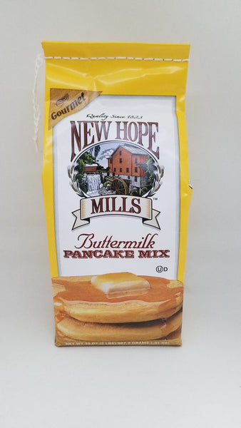 Meet our best selling mix! Buttermilk is what most people would call 'regular' pancakes, but there is nothing regular about our mix. Our Buttermilk pancakes are superior to all others, and we know you will agree. Enjoy them hot with pure maple syrup, fresh fruit, or with fruit or chocolate chips added right into the batter. The possibilities are endless with this versatile mix, so have fun with them – we do!