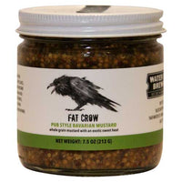 "Fat Crow Gourmet's 'Old World' style whole grain mustard will make you believe you're in a biergarten in Bavaria. With an exotic ""sweet heat', it is the perfect accompaniment to sausages, breads, cheeses, and pretzels.  7.5 oz jar"