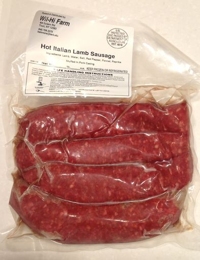 Calabrian Sausages are known for being spicy.  We have created a delicious Italian style sausage that is both sweet and spicy at the same time.  We achieve the heat with a special blend of red peppers but balance it with fennel and garlic for a nice added sweetness to create the perfect Italian sausage.