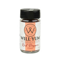 All Red Pepper Flakes are not equal!  Once you try the WillYUM Red Pepper Flakes, that  are dried and crushed with Birdseye Chile from India. They are perfect for a low sodium diet and can add zing to any food dish.   No Preservatives, No Anti Caking Agents, No MSG      All Natural. Gluten-free.  4 oz. Glass Bottle. Pour/Sift Plastic Top.