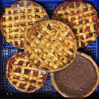 Dutch Desserts, from New York's Hudson Valley, started with a Dutch Apple Tart that made people forget all about Mom's Apple Pie. Their fascination begins with the crust, Marjan's secret and treasured recipe. Then they realize these tarts aren't too sweet, they make your taste buds jump to life. For years you could only get these tarts in Northeast specialty stores and farmer's markets. Exquisite Tarts. Bakery in Kinderhook, New York.
