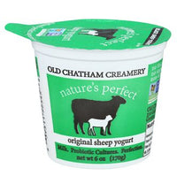 This award-winning Sheep Yogurt is available in Original. Made from sheep's milk. Good source of protein and calcium. All natural ingredients.  Try it over pancakes and waffles, or with a bowl of granola. In 6 oz plastic cups