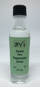 Organic Pure Peppermint Extract 50ml