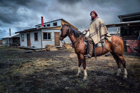 Patagonia Canvasing The World The Horse Whisperer fine art photograph by artist Sean Diediker.
