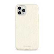 Cotton White Biodegradable iPhone 11 Pro Max Case