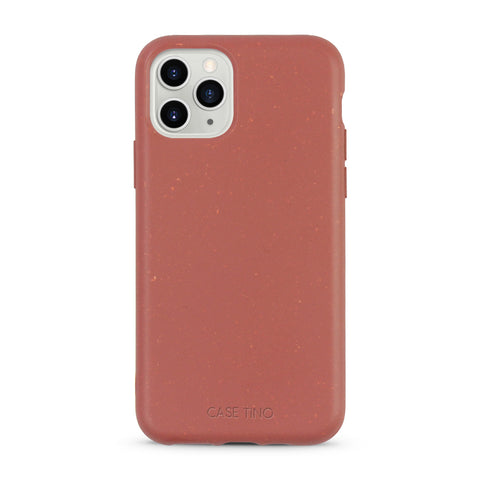 Tulip Red Biodegradable iPhone 11 Pro Max Case