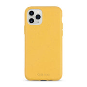 Wheat Yellow Biodegradable iPhone 11 Pro Max Case