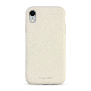 Cotton White Biodegradable iPhone XR Case