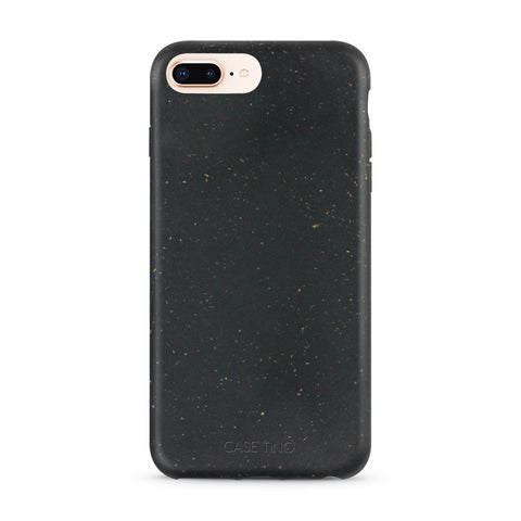 Natural Black Biodegradable iPhone 8 Plus Case