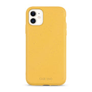 Wheat Yellow Biodegradable iPhone 11 Case