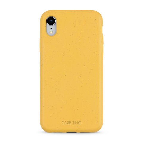 Wheat Yellow Biodegradable iPhone XR Case