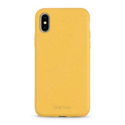 Wheat Yellow Biodegradable iPhone X, XS and XS Max Case