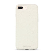 Cotton White Biodegradable iPhone 8 Plus Case