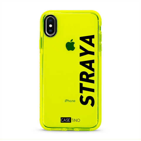 Straya Fluorescent iPhone X, XS and XS Max Case