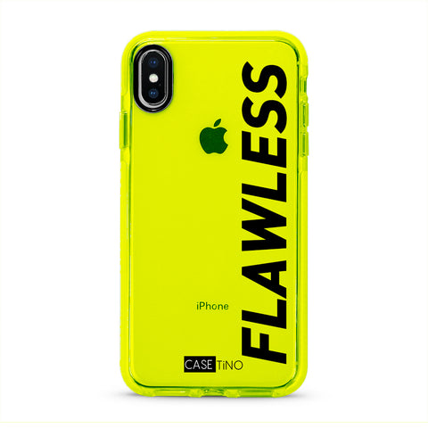 Flawless Fluorescent iPhone X, XS and XS Max Case