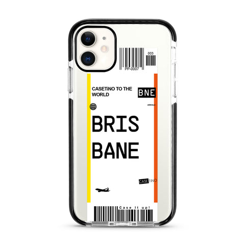 Brisbane Frequent Flyer iPhone 11 Case