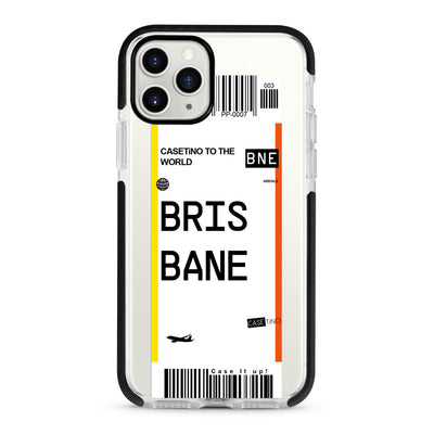 Brisbane Frequent Flyer iPhone 11 Pro Max Case