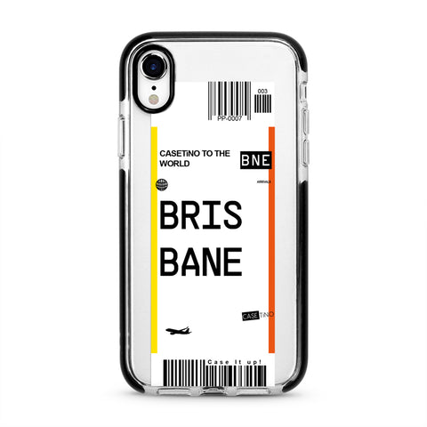 Brisbane Frequent Flyer iPhone XR Case