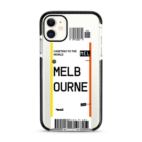 Melbourne Frequent Flyer iPhone 11 Case