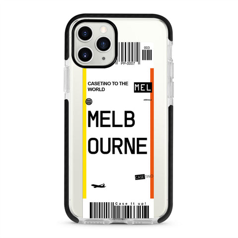 Melbourne Frequent Flyer iPhone 11 Pro Max Case